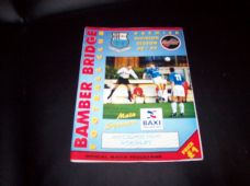Bamber Bridge v Accrington Stanley, 1998/99